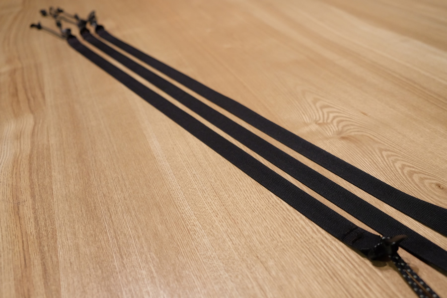 ショルダーストラップ/ラインロックタイプの長さについて