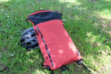 四角い薄型サイクルバッグ、Arch